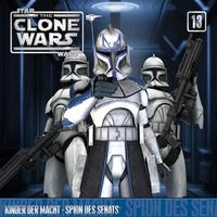 Star Wars, The Clone Wars - Kinder der Macht / Spion des Senats, 1 Audio-CD