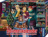 Die drei !!! Adventskalender - Lüfte in 24 spannenden Rätseln das Geheimnis der wandernden Kuscheltiere