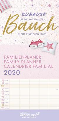 GreenLine Zuhause Familienplaner 2020