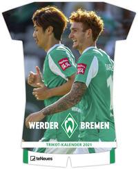 Werder Bremen Trikotkalender 2021