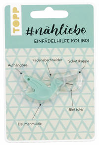#nähliebe Einfädelhilfe Kolibri Mint