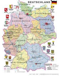 Lernpuzzle Deutschland