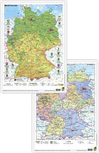 Deutschland physisch/politisch