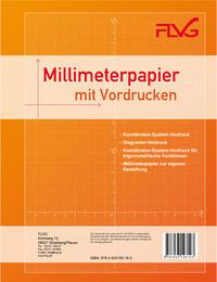 Millimeterpapier mit vorgedruckten KO-Systemen