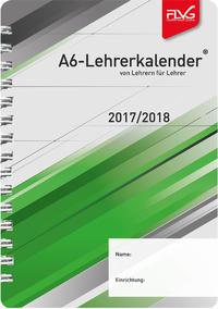 A6 Lehrerkalender von Lehrern für Lehrer 2017/2018