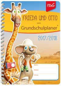 Grundschulplaner mit Frieda & Otto 2017/2018