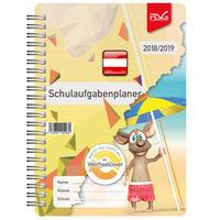 Schulaufgabenplaner mit Frieda & Otto 2018/2019 - Ausgabe Österreich
