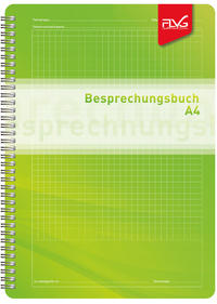 Besprechungsbuch im Format A4