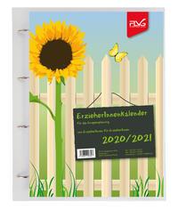 ErzieherInnenkalender für Gruppenplanung 2020/2021, A4, inkl. Ringbuchmappe