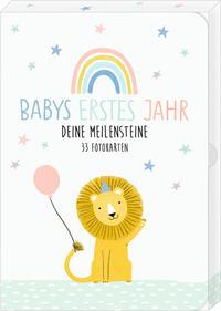 Fotokarten-Box - Meine kleine Welt - Babys erstes Jahr - Deine Meilensteine