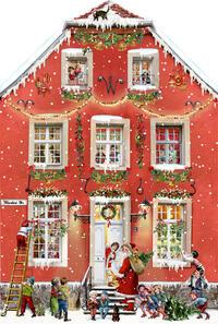 Aufstellkalender – Weihnachten bei uns Zuhaus