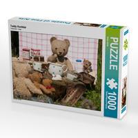 CALVENDO Puzzle Teddy Kochbär 1000 Teile Lege-Größe 64 x 48 cm Foto-Puzzle Bild von Meike Bölts