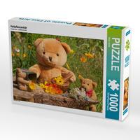 CALVENDO Puzzle Heilpflanzenbär 1000 Teile Lege-Größe 64 x 48 cm Foto-Puzzle Bild von Meike Bölts