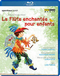 La Flûte enchantée pour enfants