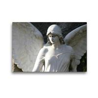 Premium Textil-Leinwand 45 x 30 cm Quer-Format Engel der Transformation | Wandbild, HD-Bild auf Keilrahmen, Fertigbild auf hochwertigem Vlies, Leinwanddruck von Monika Kober