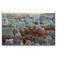 Premium Textil-Leinwand 120 x 80 cm Quer-Format Coal Mine Canyon, Navajo Reservation, Arizona, USA | Wandbild, HD-Bild auf Keilrahmen, Fertigbild auf hochwertigem Vlies, Leinwanddruck von Christian Heeb
