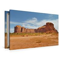Premium Textil-Leinwand 120 x 80 cm Quer-Format Sentinel Mesa   Wandbild, HD-Bild auf Keilrahmen, Fertigbild auf hochwertigem Vlies, Leinwanddruck von Nadine Büscher