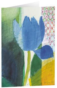 Kunstkarten 'Sommertulpe'
