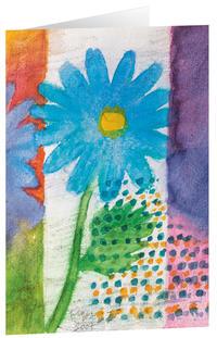 Kunstkarten 'Blauer Frühling'
