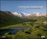 Entlang der Seidenstraße 2021 – Reise-Fotografie von Priska Seisenbacher – Wandkalender 58,4 x 48,5 cm – Spiralbindung - Cover