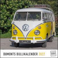 DUMONTS Bulli-Kalender 2022 - VW-Bus, Oldtimer, Retro - 24 x 24 cm im Quadratformat