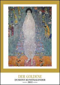 Kunstkalender 2022 – Der Goldene DUMONT-Kunstkalender – Wandkalender – Hochformat A3 29,7 x 42 cm