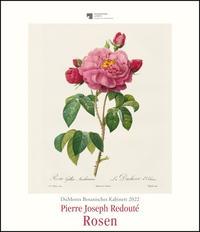 DuMonts Botanisches Kabinett – Rosen von P.J. Redouté – Kunstkalender 2022 – Wandkalender im Hochformat 34,5 x 40 cm