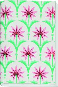 Gefährlich schön Besticktes Notizheft klein Motiv Sternblume