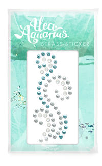 Strass-Sticker 'Alea Aquarius'