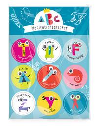 Schulanfang Motivationssticker 'ABC'
