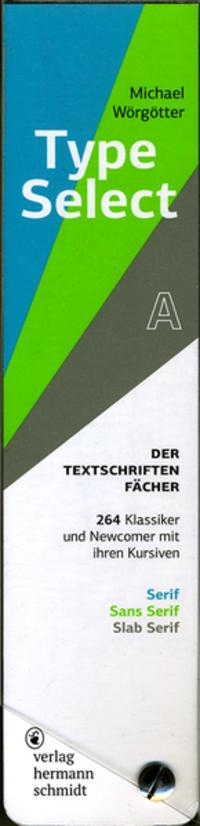 TypeSelect - Der Textschriften-Fächer