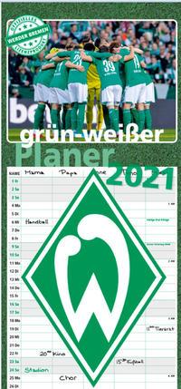 Grün-weißer Planer - SV Werder Bremen 2021