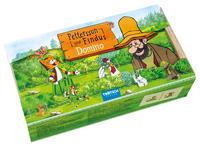 Holz-Domino Pettersson und Findus