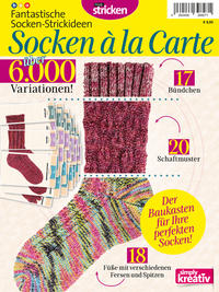 Fantastische Socken-Strickideen: Socken à la Carte