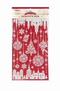 Weihnachtlicher Dekosticker