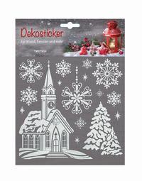 Weihnachtsidylle Dekosticker