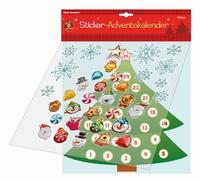 Sticker-Adventskalender