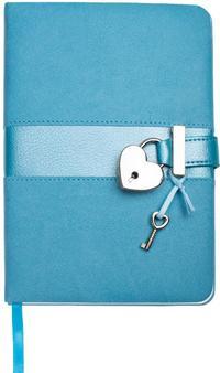 Tagebuch Matt & Shiny Blau