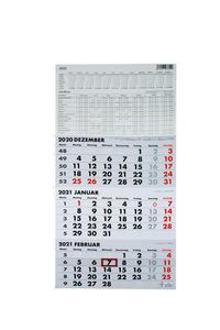 Dreimonatskalender 2021