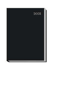Taschenkalender A6 'schwarz' 2021