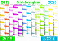 Schuljahresplaner 2019/2020