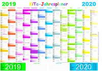 KITA-Jahresplaner 2019/2020