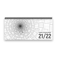 Lehrer-Tischkalender 2021/22 XL - 1 Woche - 2 Seiten