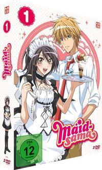 Cover: Animes auf DVD Maid-sama 1-4. (4 Teile, je DVD circa 175 min)