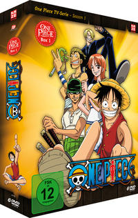Cover: DVD-Anime One Piece Season 1.1 + 1.2 (jeweils 6 DVDs)
