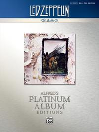 Led Zeppelin: Untitled (IV) Platinum Bass Guitar