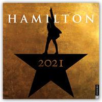Hamilton 2021 - 16-Monatskalender