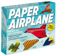 Paper Airplane Fold-a-Day - Papierflieger-Faltvorlage für jeden Tag 2021