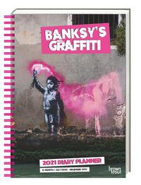 Banksy's Graffity 2021 - Taschenkalender