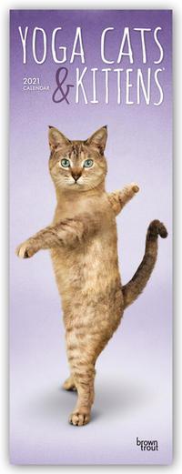 Yoga Cats & Kittens - Yoga-Katzen und Yoga-Kätzchen 2021